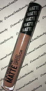 L.A. Colors MATTE Liquid Lip Color CLG401 *SULTRY* Peachy Nude Brand New Sealed