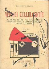 VERNICI CELLULOSICHE - CALISTO BIANCHI