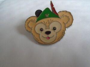 Disney's Duffy Bear Robin Hood Hat Hidden Mickey  Pin  Badge
