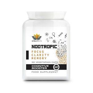 Nootropic Cogntive Brain Boost - Support Mental Performance - Cognitive Enhancer