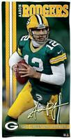 Aaron Rodgers Green Bay Packers,NFL Football big Strandtuch,Badetuch Beach Towel
