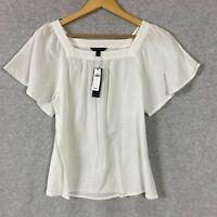 Banana Republic Womens Shirt Short Sleeve Size Small