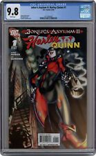Joker's Asylum Harley Quinn #1 CGC 9.8 2010 3711482007