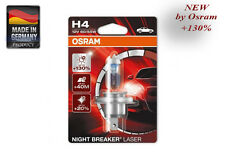 OSRAM NIGHT BREAKER LASER +130% H4 P43t 64193NBL01B 64193NBLHCB