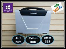 MK3 Panasonic Toughbook CF-52✔i5 M540✔2.53GHz✔4Gb RAM✔250GB✔Win10✔Office365✔