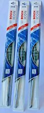 LOT OF 3 Bosch Icon 26OE Windshield Wiper Blades