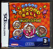 Nintendo DS Super Monkey Ball Touch & Roll (2006), New & Factory Sealed