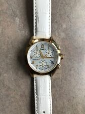Timex T-Series Chronograph T2M713 3 Sub Dials Mother Of Pearl Face Bin G