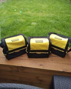 3 X Stanley FatMax Tool Bag With Strap And Side Compartments