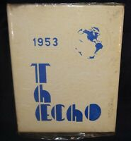 St. John Township High School Dyer IN Indiana 1953 Annual Yearbook  Year Book
