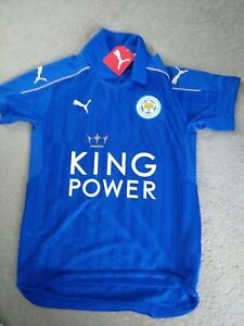 Leicester City Football Shirt  size 26/28  brand new with tag