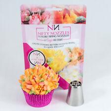 Nifty Nozzles - L - 3 - 5 Petal Tulip  - Genuine Russian Piping Tip  - 1 Nozzle