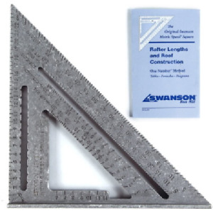 Swanson Speed Square Metric - 25cm Carpentry Square