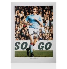 Rodney Marsh Signed Photo - Manchester City  Autograph