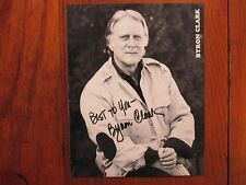 BYRON  CLARK (Trading Places/All the President's Men)Signed 8 X 10  B & W Photo