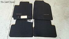 NEW OEM TOYOTA CELICA 2001-2005 CHARCOAL(BLACK) CARPET FLOOR MATS 4-PEICE SET