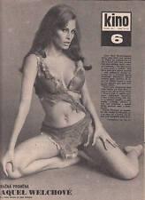 RAQUEL WELCH sexy Vintage KINO 1970 Magazine