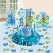 Ahoy Baby Boy Table Decoration Kit, Baby Shower, Party Supplies