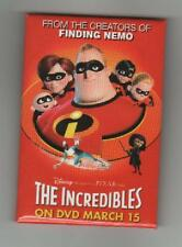 "Disney ""The Incredibles"" Promotional Button"