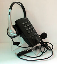 RJ Corded Telephone Dialpad Feature W/ NC Monaural Headset