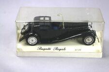 ZC715 Solido Âge d'Or 4036 Véhicule Miniature Metal 1/43 Bugatti Royale Noir