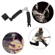 3in1 Guitar Accessories Guitar Peg Pro String Winder Pin Puller String Cutter