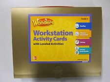 McGraw-Hill Reading Wonders Grade 5 Workstation Activity Cards New 0021193258