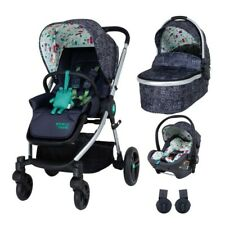 New Cosatto Wowee 3 in 1 Travel system My Town with car seat and pvc from birth