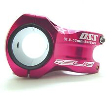 Relic DSS 31.8 / 35mm Dual Size MTB Bike Stem Black or Red