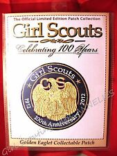 100th Anniversary of GOLDEN EAGLET 1916-2016 Large Girl Scout Patch Multi=1 Ship