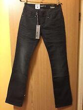 Brand New FIRETRAP Smokey Alice Blackseal Low Slim Fit Jeans - W28 X 34L