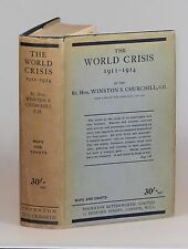 Winston S. Churchill - The World Crisis: 1911-1914, 8th printing, in dust jacket