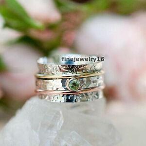 Peridot Ring Coffin Ring Handmade Ring Statement Ring 925 Silver Ring kd9251