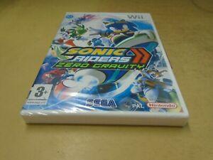 Sonic Riders Zero Gravity NEW and Sealed Nintendo Wii Original UK Release