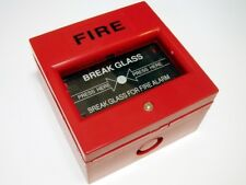 10x Fire Alarm Break glass button, With back box and test key *FREE SHIPPING*