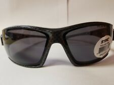 Stihl Patterned Frame glasses Smoke Lens #0381
