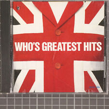 Who's Greatest Hits by The Who (MCA)