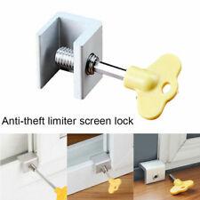 Safety Equipment 1pc Move Window Child Safety Lock Sliding Windows Lock Kids Cabinet Locks Sliding Door Stopper Security Sliding Sash Stopper Mother & Kids