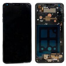LG G6 Display Einheit ACQ90289901 Modul LCD Glas Rahmen Gehäuse Schwarz Ersatz
