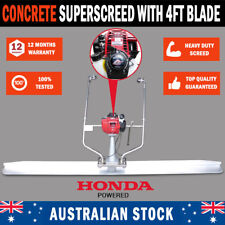 Honda Powered GX35 4 Stroke Concrete Finishing Screed Trowel With 4ft Blade