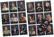 "James Bond 40th Anniversary - 19 Card ""Bond Villains"" Chase Set BV001-BV0019"