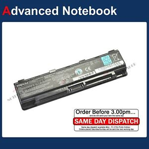 Genuine Toshiba Battery PA5109U-1BRS PABAS272 for Toshiba Satellite C50-A C50D-A