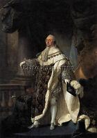FRENCH CALLET ANTOINE FRANCOIS PORTRAIT DE LOUIS XVI ARTISTE TABLEAU PEINTURE