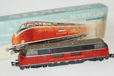 Antiguo Märklin Locomotora Maqueta de Tren H0 3021 Diésel