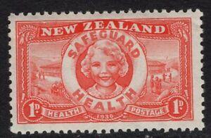 """New Zealand. 1936. Health. """"Life Buoy"""". MUH."""