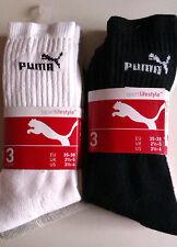"""18 Paires De Chaussettes Sport """"Puma"""" 35-38 (Blanc - Noir - Gris)  NEUF"""