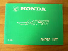 HONDA PARTS LIST PX50 PX 50 2 ED AROUND 1983  MOPED,MOFA BROMFIETS BROMMER