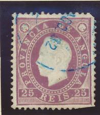 Angola Stamp Scott #19, Used