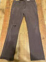 Volcom Size 34 Skater Pants Distressed Men
