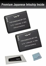 WT-BP70AK2 Battery (2pack) for Samsung ST76,ST80,ST90,ST93,ST95,ST100,ST150F